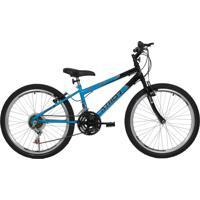 Bicicleta Aro 24 18M Legacy Azul Athor Bikes