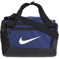 Bolsa Nike Brasilia Xs Duff 9.0 - 25 Litros - Unissex-Marinho+Preto