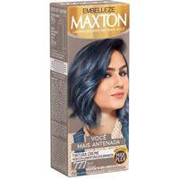 Tintura Creme Maxton .777 Azul Denim Com 1 Unidade 1 Unidade