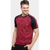Camiseta Hd Foliage Masculina - Masculino-Bordô