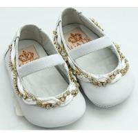 51b87257d ... Sapato Baby Verniz Gats - Feminino-Branco