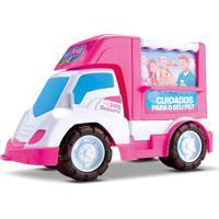 Brinquedo Carrinho Food Truck Veterinária De Menina – Samba Toys - Kanui