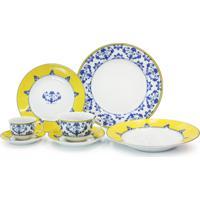 Jogo De Jantar Com Chá E Café De Porcelana Vista Alegre Castelo Branco - 30 Peças