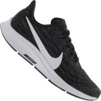 Tênis Nike Air Zoom Pegasus 36 - Feminino - Preto/Branco