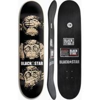 Shape De Skate Black Star Sentidos 7.8 - Unissex