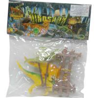 Mini Bichos Animal Dinos Com Cerca Cks Toys Ref:Cht393782