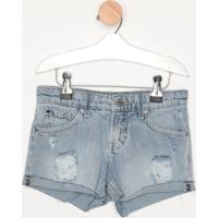 Short Jeans Destroyed- Azul Clarocalvin Klein