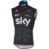 Colete Corta Vento Castelli Sky Team - Masculino
