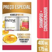 Shampoo + Condicionador Pantene Cachos Hidra-Vitaminados 1 Unidade