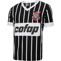 Camiseta Retrô Corinthians Réplica 1983 Cofap Masculina - Masculino