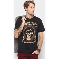 0095aca412 Netshoes  Camiseta Cavalera Back To The Roots Masculina - Masculino