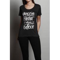 Camiseta Queria Morar Num Boteco