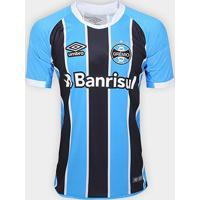 Camisa Grêmio I 17/18 S/Nº - Torcedor Umbro Masculina - Masculino