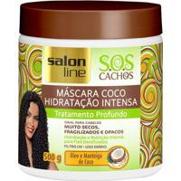 Máscara De Tratamento Salon Line S.O.S Cachos Coco 500G