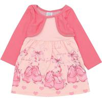 Vestido Marlan Baby Infantil Sapatilhas Rosa