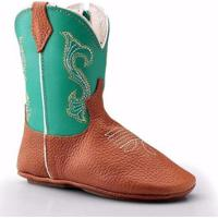 Bota Texana Country Baby Capelli Boots Infantil - Masculino-Verde