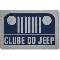 Tapete Capacho Clube Do Jeep - Azul Marinho