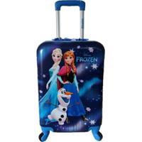 Mala De Viagem Infantil Luxcel Frozen Mf10123Fz Feminina - Feminino