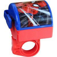 Buzina Para Bike Spiderman®- Vermelha & Azul- 7X6X5,Etilux