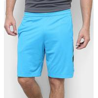 Bermuda Adidas Accelerate 3S Masculina - Masculino-Azul
