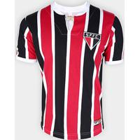 Camisa São Paulo 1971 Retrô Mania Masculina - Masculino-Preto+Vermelho