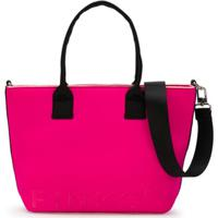Pinko Kids Bolsa Tote Com Logo - Rosa