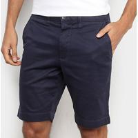Bermuda Jeans Lacoste Masculina - Masculino-Marinho