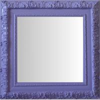 Espelho Moldura Rococó Externo 16354 Lilás Art Shop