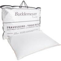 Travesseiro Buddemeyer Toque De Pluma 233 Fios Branco