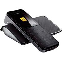 "Telefone Sem Fio Panasonic Com Display 2,2"", Viva-Voz, Babá Eletrônica - Kx-Prw110Lbw"
