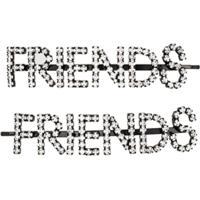 Ashley Williams Acessório Para Cabelo Friends Com Aplicação De Cristal - Preto