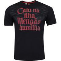 Camiseta Do Flamengo Island - Masculina - Preto
