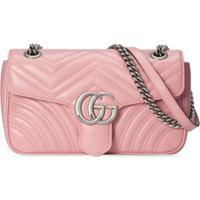 Gucci Gg Marmont Shoulder Bag - Rosa