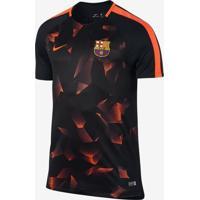 Camisa Nike Barcelona Dry Squad Masculina