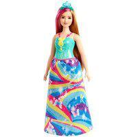 Boneca - Barbie - Dreamtopia - Princesa - Vestido Verde Gjk12