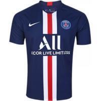 Camisa Nike Paris Saint Germain I 2019/20 Torcedor Pro