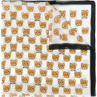 Moschino Echarpe Teddy Bear - Branco