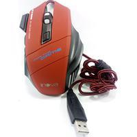 Mouse Gamer Led Jogos Pc Notebook 3200 Dpi - Verm