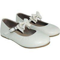 Sapato Hobby Em Couro Offwhite