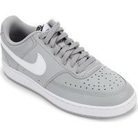 Tênis Nike Court Vision Lo Masculino - Masculino-Cinza+Branco