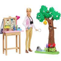 Boneca Barbie - Barbie Natural Geographic - Cuidadora De Borboletas - Mattel - Tricae