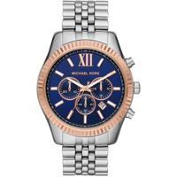 Relógio Michael Kors Lexington Mk8689/1Kn Feminino - Feminino-Prata