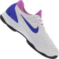 Tênis Nike Air Zoom Cage 3 Hc - Masculino - Branco/Azul