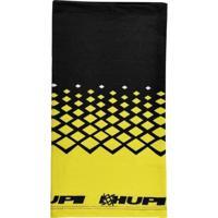 Bandana Trento Para Corrida E Ciclismo Formato Tubular Hupi - Unissex-Amarelo