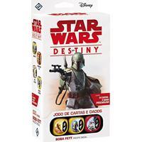 Jogo De Cartas E Dados Star Wars Destiny - Boba Fett (Pacote Inicial)