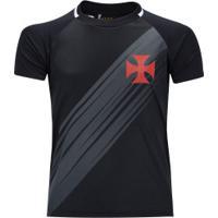 Camiseta Do Vasco Da Gama Honda 19 - Infantil - Preto