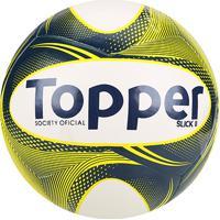 Netshoes  Bola Futebol Society Topper Slick Ii - Unissex 7048680894063