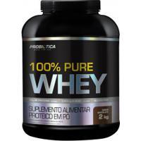 Whey Protein Concentrado Probiótica 100% Pure Whey - Chocolate - 2 Kg