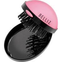 Pop Up Brush Belliz - Mini Escova De Cabelos Mini Escova De Cabelo - Unissex-Incolor