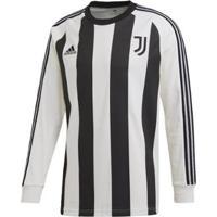 Camiseta Adidas Juventus Icons Long Sleeve Masculina - Masculino